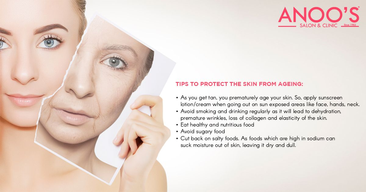 Tips To Protect The Skin From Ageing Anti Aging Treatments Skin Care Treatments Skin Therapy