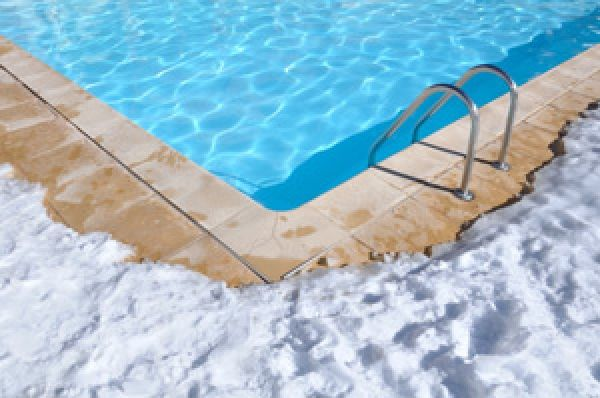 Cold Climate Winter Maintenance Tips For Inground Swimming Pools Swimming Pools Inground Swimming Pool Maintenance Pool Warmer