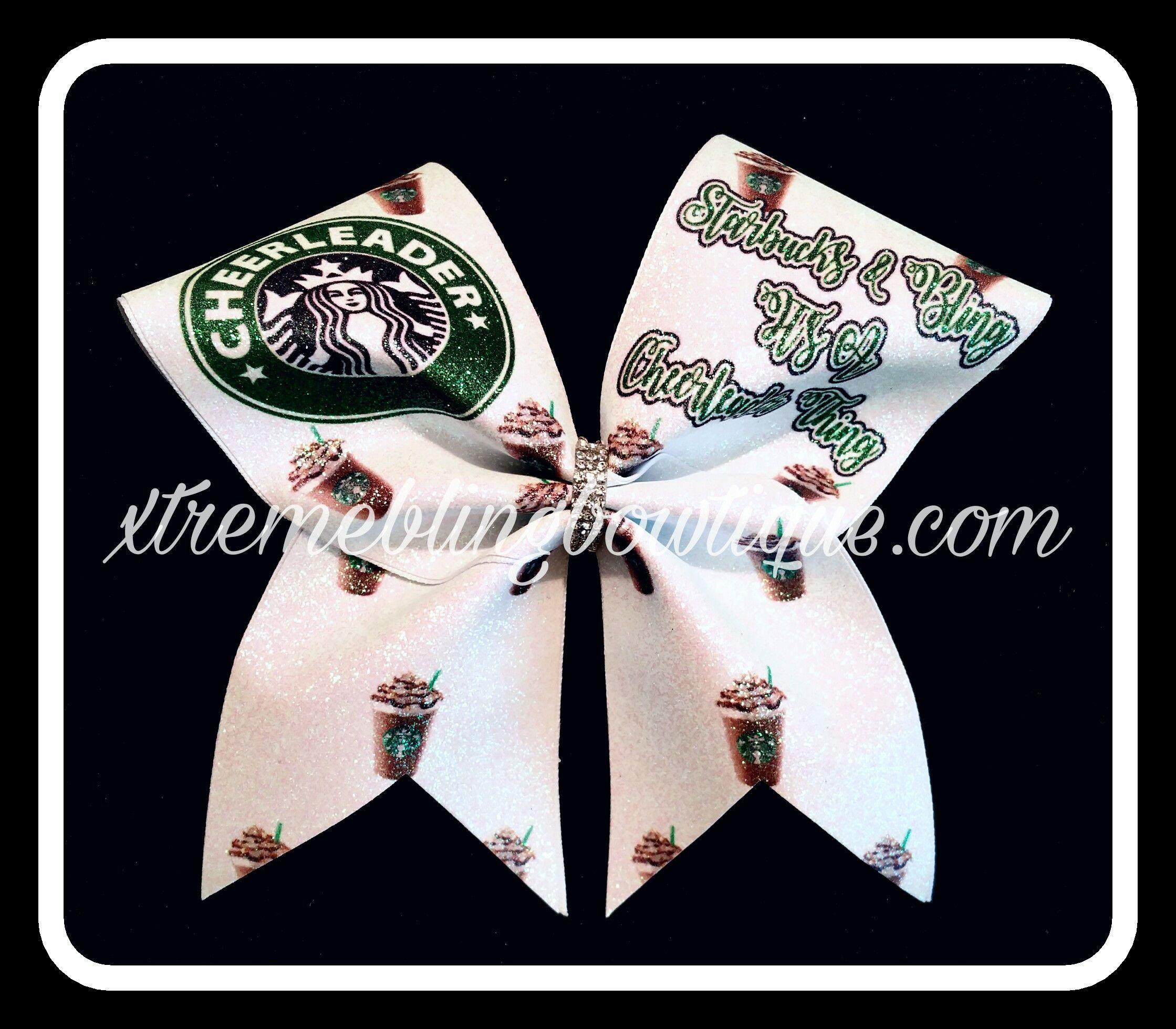 Cheer Bow --Starbucks