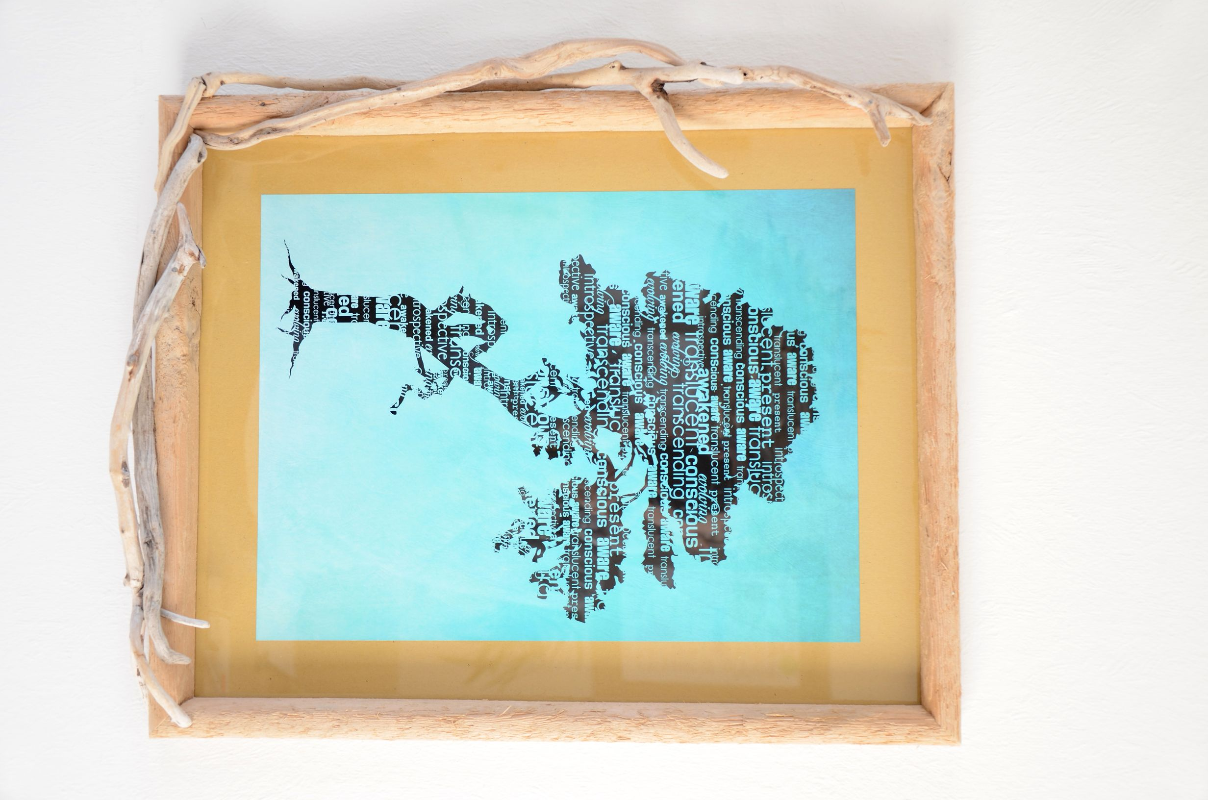 Treibholz-Bilderrahmen SEA SPIRIT ~ driftwood picture frame ...