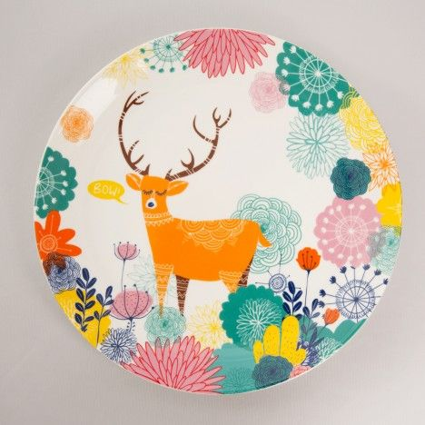 8c2f8104a8a JUNGLE DINNER PLATE - CROCKERY - TABLEWARE :: Chumbak | Product ...