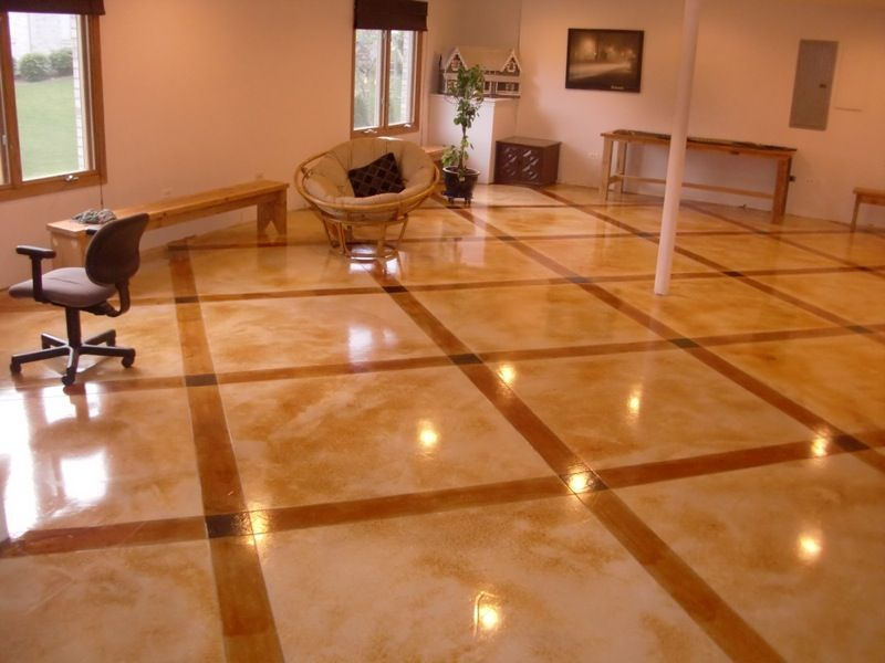 Stained Concrete Floors Colors Inovesia Home And Car