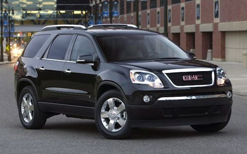 gmc acadia manual transmission