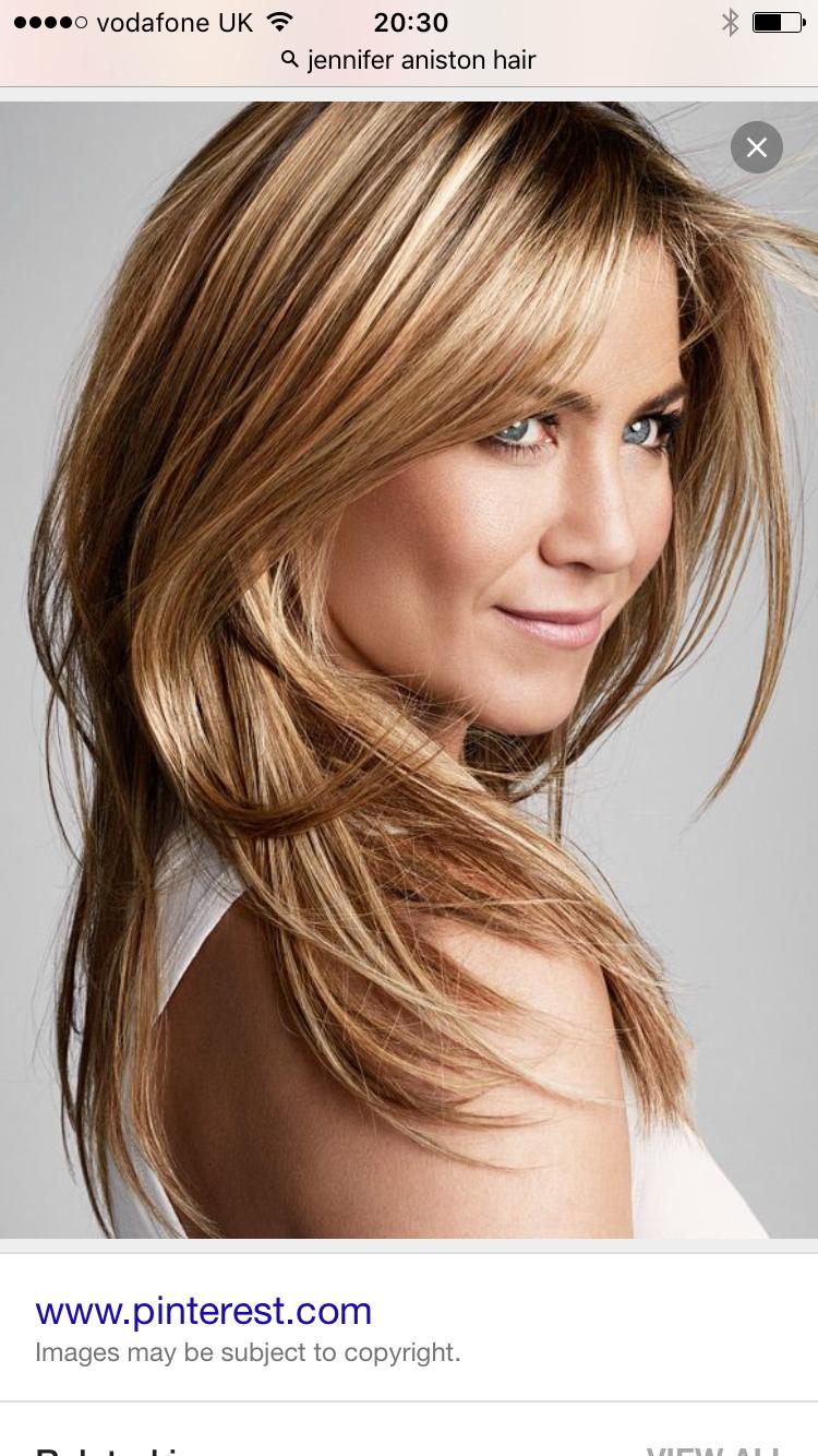 Jennifer Aniston Hair Color Style Favs Pinterest Jennifer