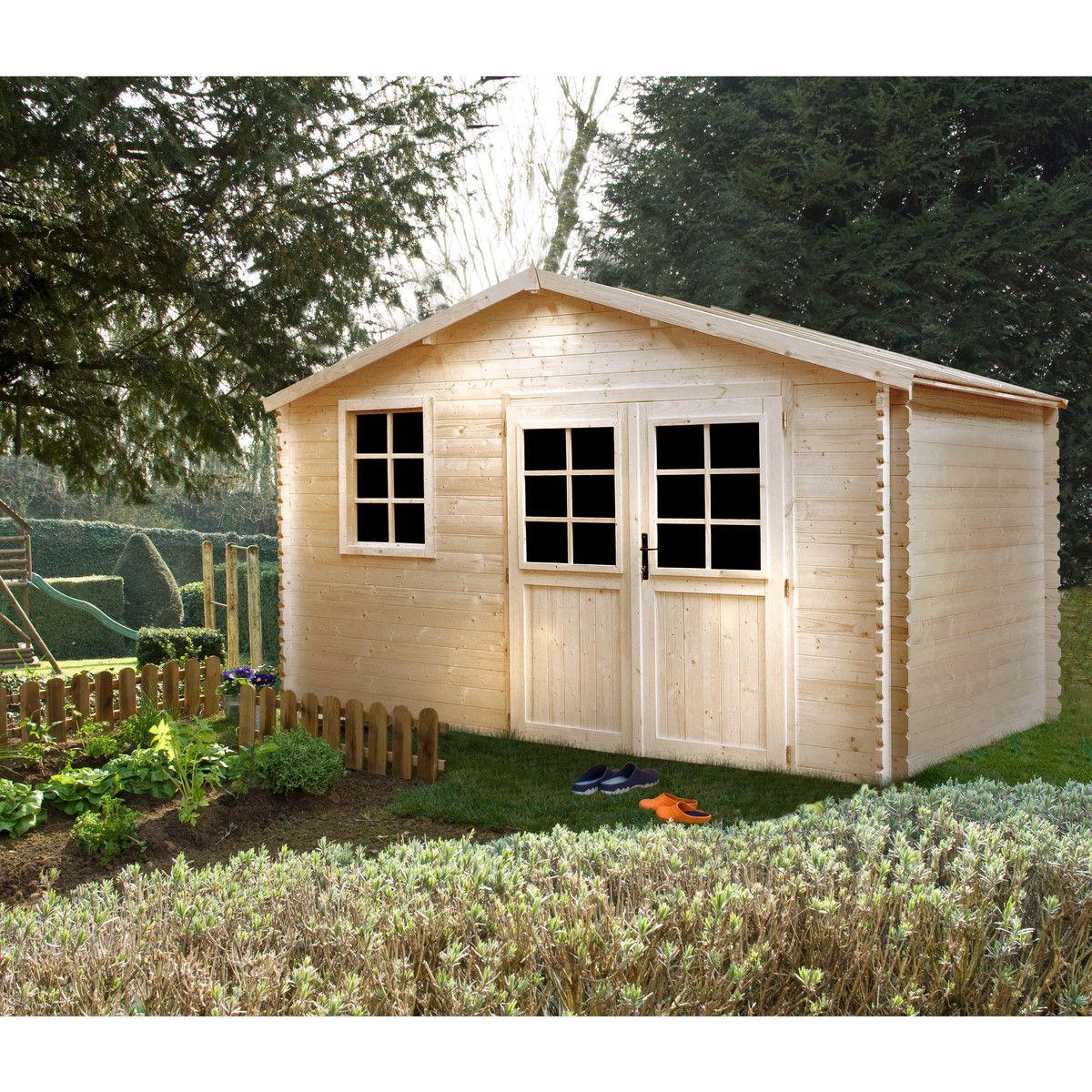 site réputé 1ffb1 8c656 Abri de jardin bois ROVANIEMI   Bons Plans pas Cher   Abri ...