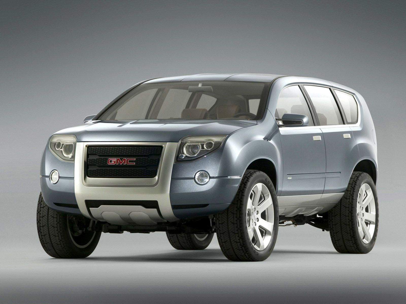 The GMC Graphyte Hybrid is a GMC Truckbranded concept car