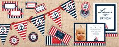 Free nautical prints for party!