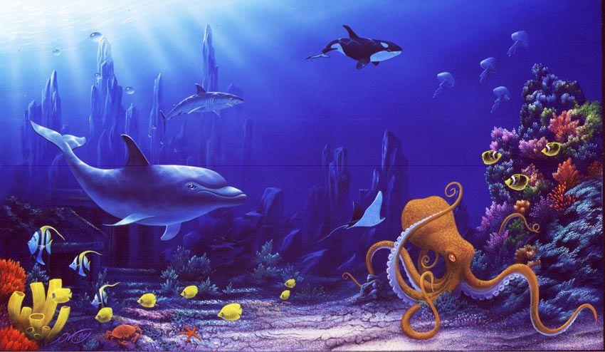 картинки сказки подводный мир ковер оленем красные