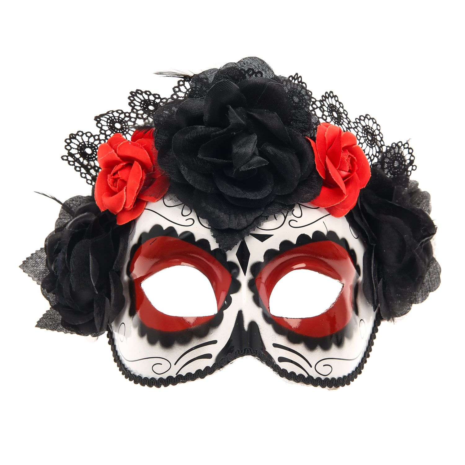 Day of the dead sugar skull Halloween costume #ClairesScares ...