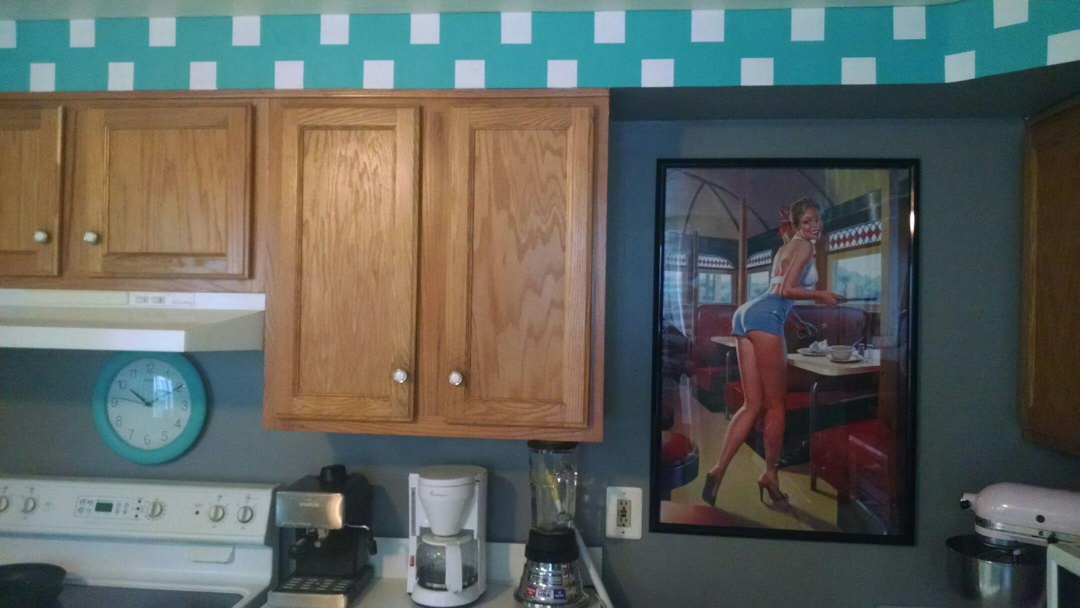 Retro 50\'s kitchen | retro 50\'s | Pinterest