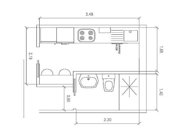 Planos de cocinas planificador planos cocina pinterest for Planos de oficinas pequenas