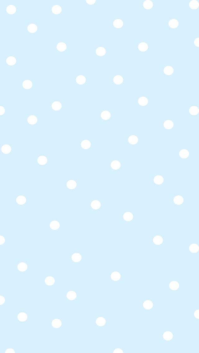 Polka Dot Polka Dot Wallpapers For All Phone Polka Dots Wallpaper Plain Wallpaper Iphone Baby Blue Wallpaper