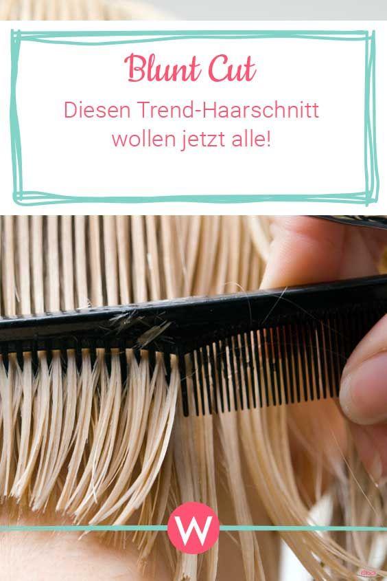 Blunt Cut wird der Trend-Haarschnitt 2019  | Wunderweib #frisurenkurzehaare