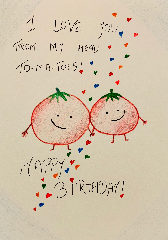 Diy Easy Birthday Card For Boyfriend Girlfriend Husband Wife Spouse Using Muji Co Husband Birthday Card Diy Birthday Card For Boyfriend Simple Birthday Cards