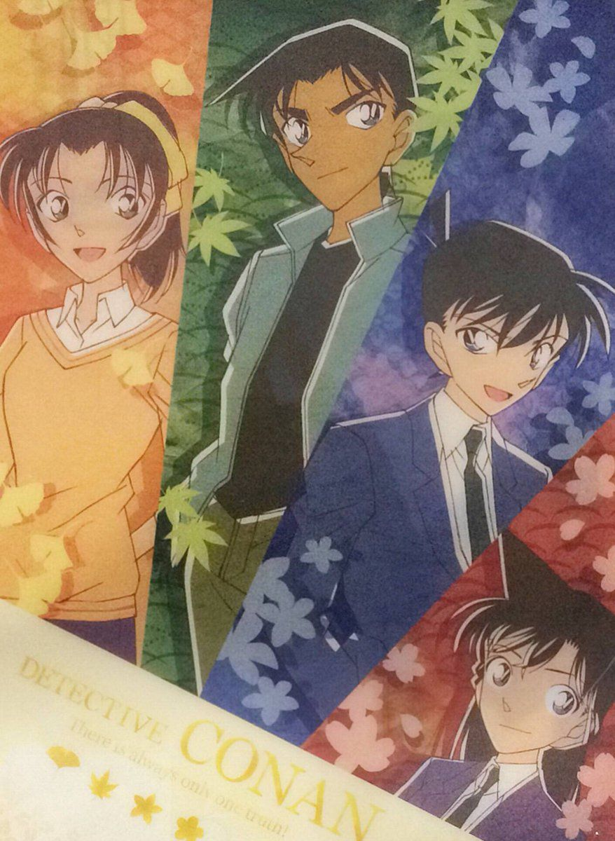 The 2 most beautiful couples in Detective Conan
