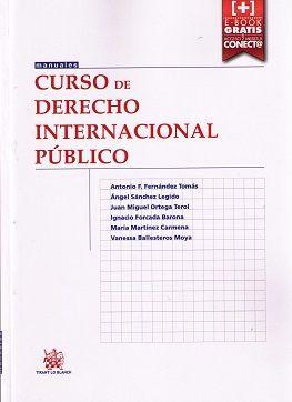 Curso De Derecho Internacional Publico Antonio F Fernandez Tomas Et Al Tirant Lo Blanch 2015