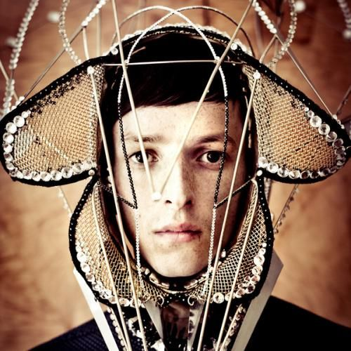 Totally Enormous Extinct Dinosaur...a more modern look at head gear/crown....A more magpie mentality!