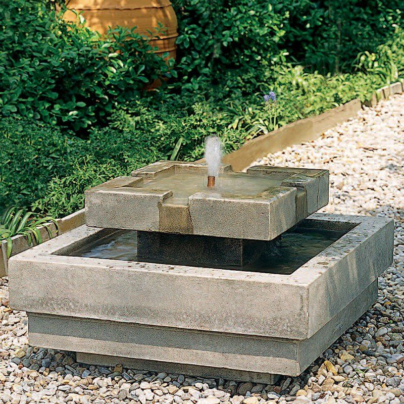 Simple Water Features For The Garden: Lovely Simple Idea For A Fountain