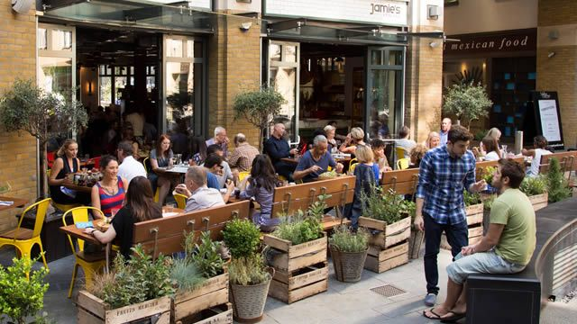 The Best London Restaurants With Outdoor Dining Areas