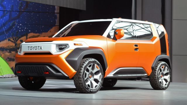 The 2018 Toyota FT4X Concept was revealed at the 2017 New