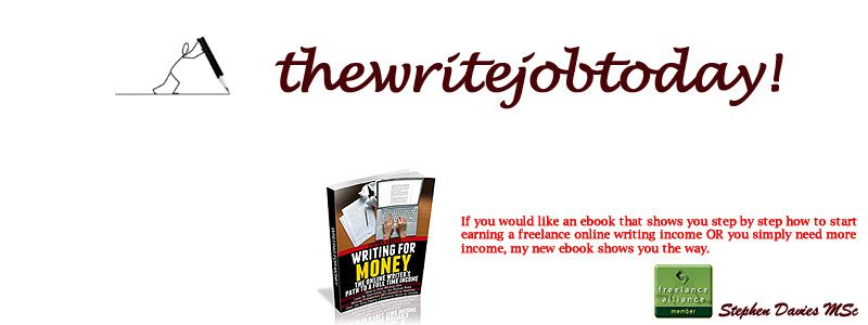 The write job today how to get freelance writing jobs the write job today how to get freelance writing jobs fandeluxe Epub