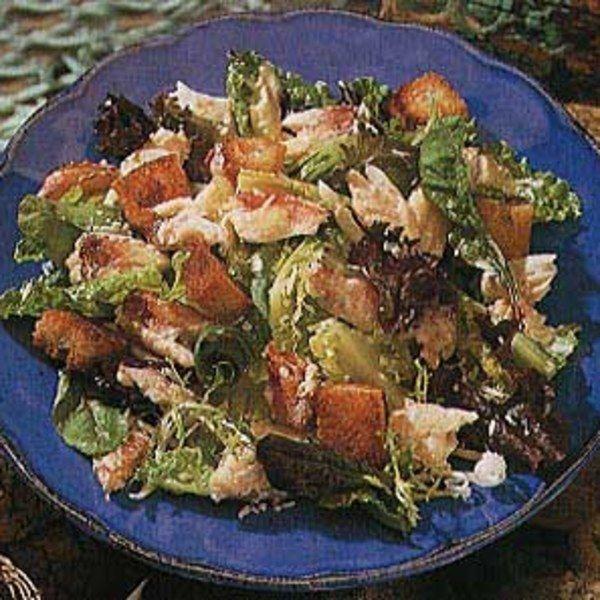 Crab Salad And Buttermilk Caesar Dressing Easy Caesar Dressing Recipe Caesar Salad Recipe Caesar Dressing Recipe