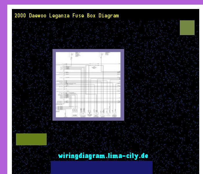 1999 Daewoo Leganza Wiring Diagram