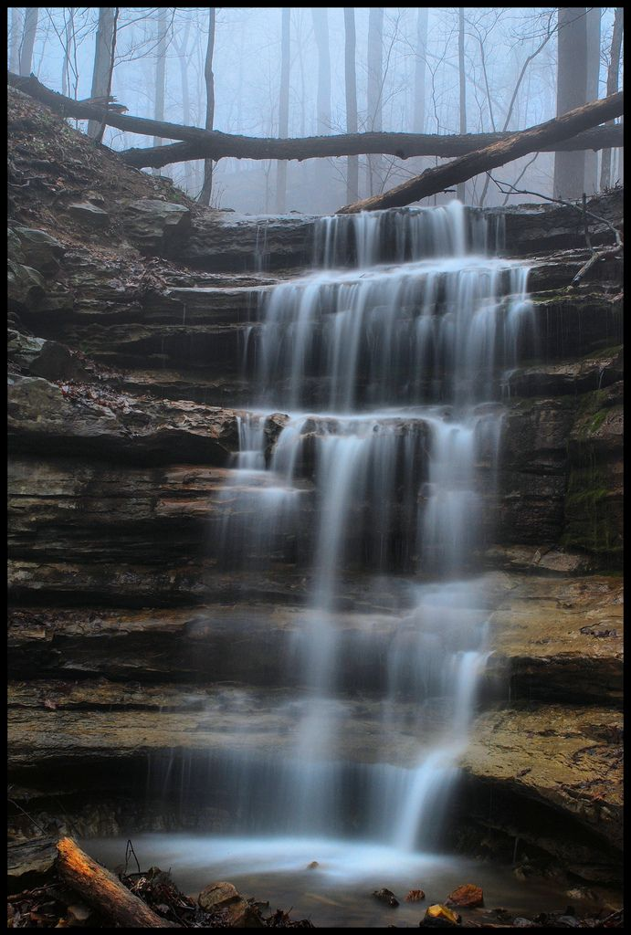 Falls In The Mist Falling Waters State Parks Alabama