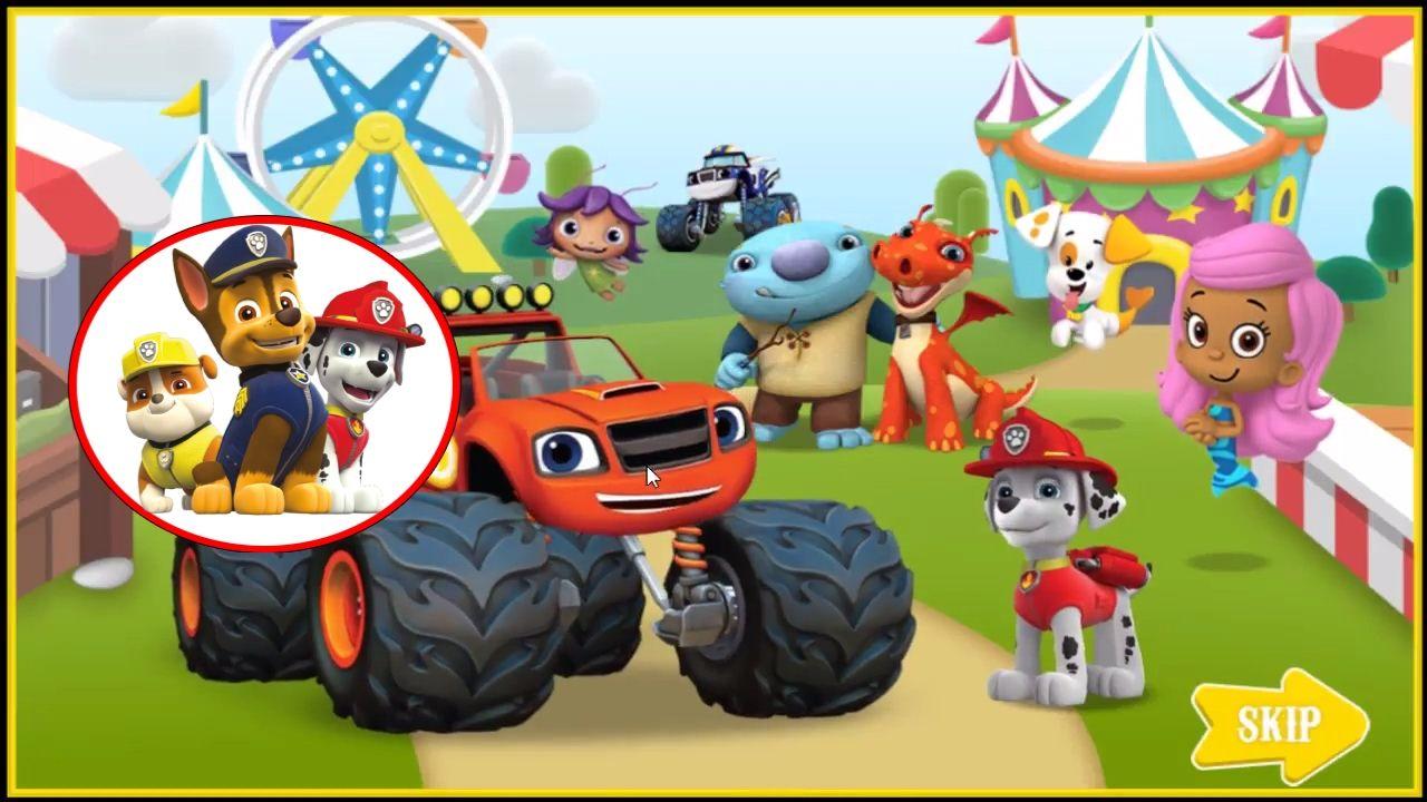 Paw patrol coloring games online - Nickelodeon Games To Play Online 2017 Paw Patrol Games Nick Jr Carnival Creations