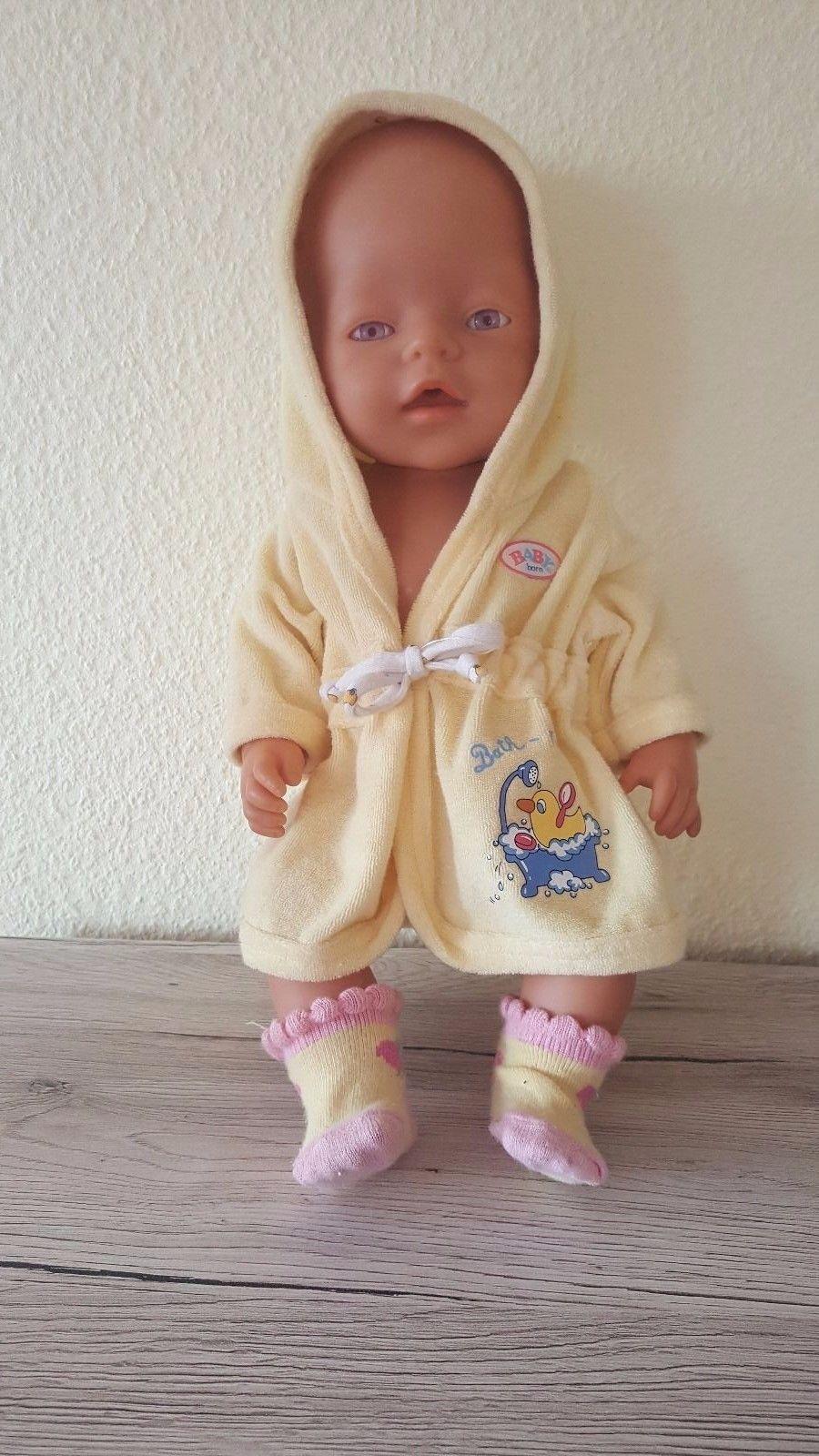 Zapf Creation Baby Born Bekleidung S 252 223 Er Bademantel In