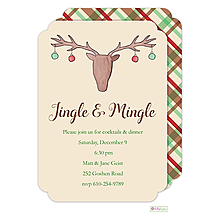 Ornament Exchange Christmas Party Invitations 2016