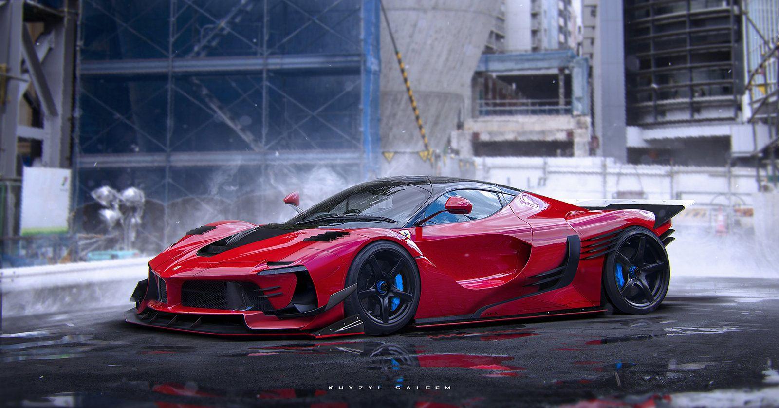 La F K Khyzyl Saleem Ferrari Fxx Ferrari Laferrari Super Cars