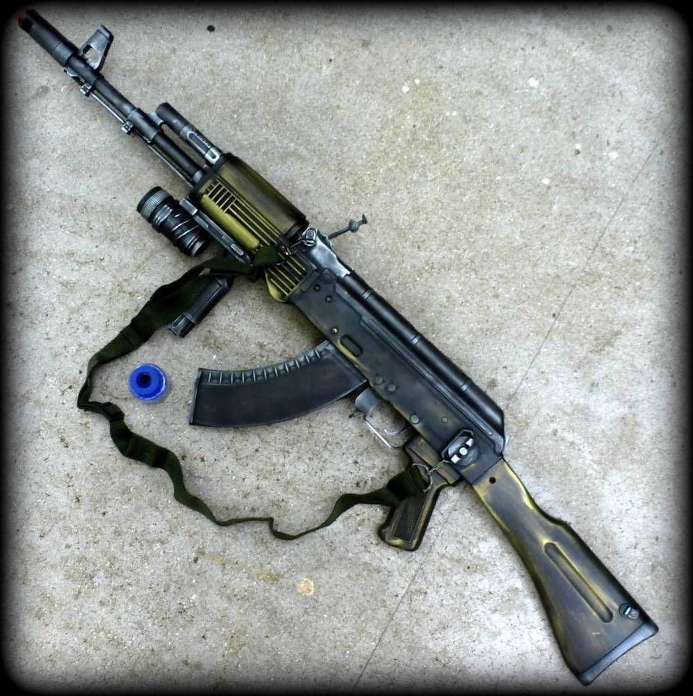 Details Steampunk Cybergun Kalashnikov Ak47 Airsoft