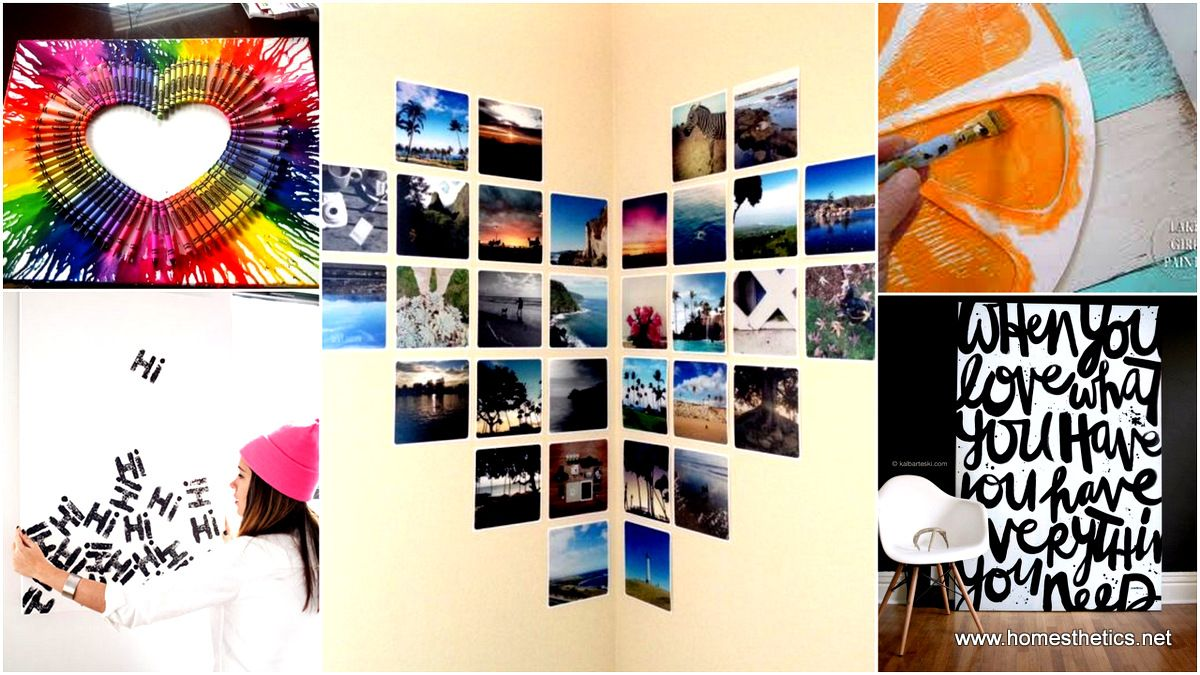 methods of beautifying your blank walls diy wall art projects