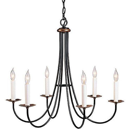Hubbardton Forge Natural Iron Simple Sweet Chandelier house ideas