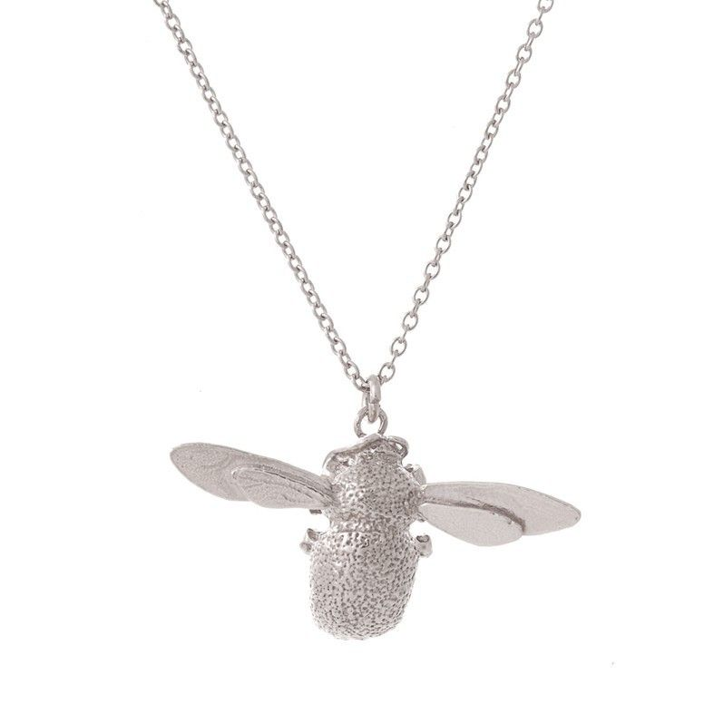 bumble elements luminesse sterling pendant silver bee swarovski made with bumblebee necklace ip