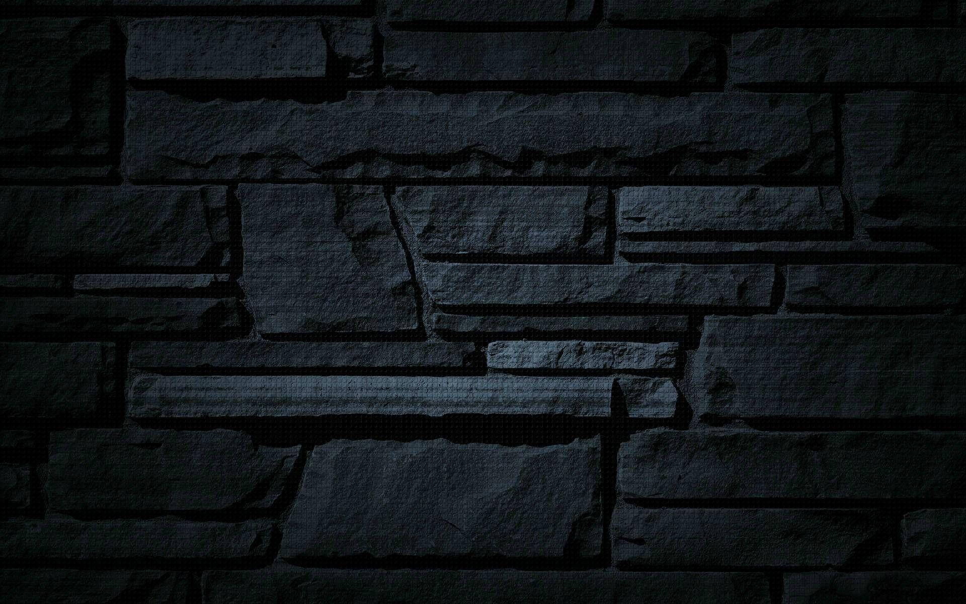High Definition Mobile Phone And Desktop Wallpapers Black Brick Wallpaper Brick Wallpaper Textured Wallpaper