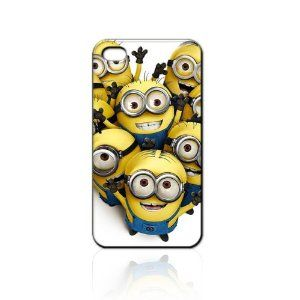 Despicable Me Hard Case Skin for Iphone 4 4s Iphone4 At Sprint Verizon Retail Packing. I needdddddd!!!!!