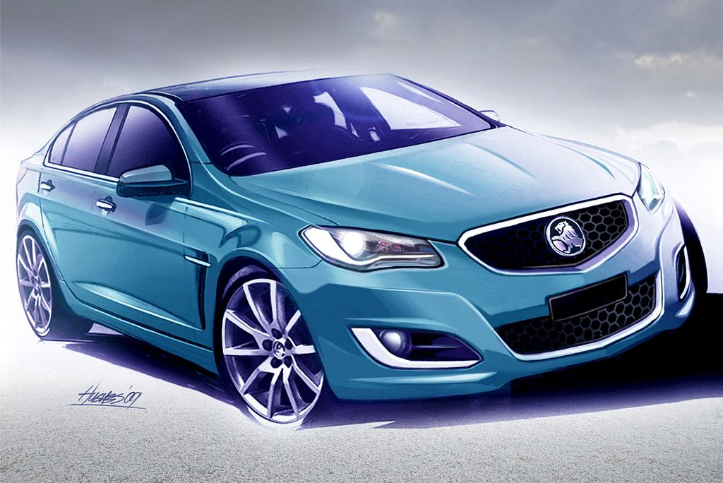 Holden Preview 2013 Calais V Luxury Sports Concept Cars