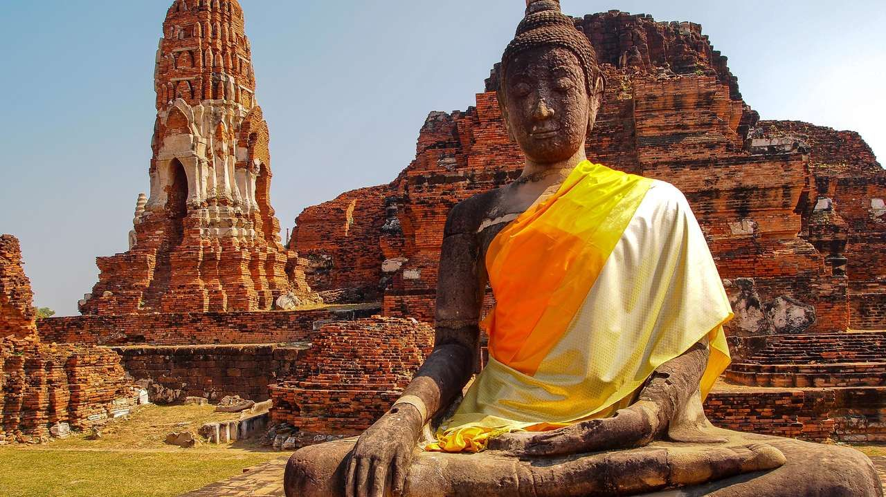 Thailand and Laos Honeymoon - #OldTemple, #Ayuthaya, #Thailand #Steppes This trip gives a chance to visit northern Thailand staying either in the heart of #ChiangMai, with ancient temples and buzzing street markets or outside the cities with a more rural atmosphere.