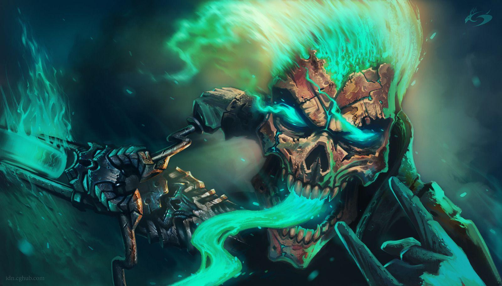 Amazing Ghost Rider By IDN Konzalaev Sergei