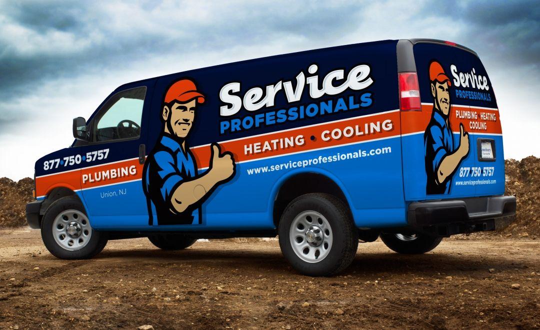 Truck Wrap And Fleet Branding For Union Nj Based Hvac And Plumbing Company