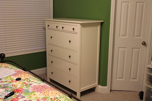 Ikea Hemnes 6-drawer dresser in white. calleighs dresser (shared room now brother/sister )