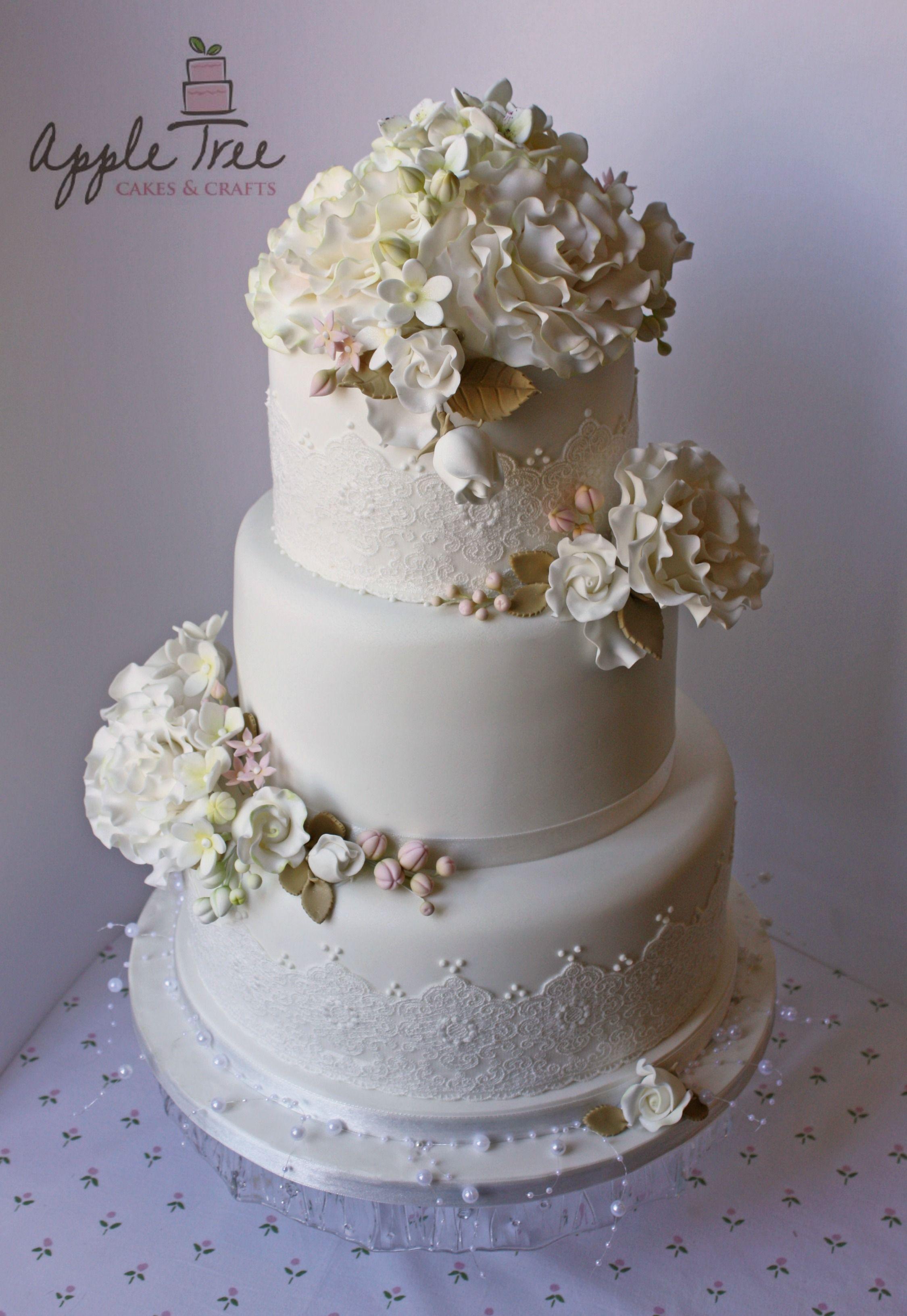 Apple Tree Cakes & Crafts on Pinterest   Tree Cakes, Sugar Flowers an
