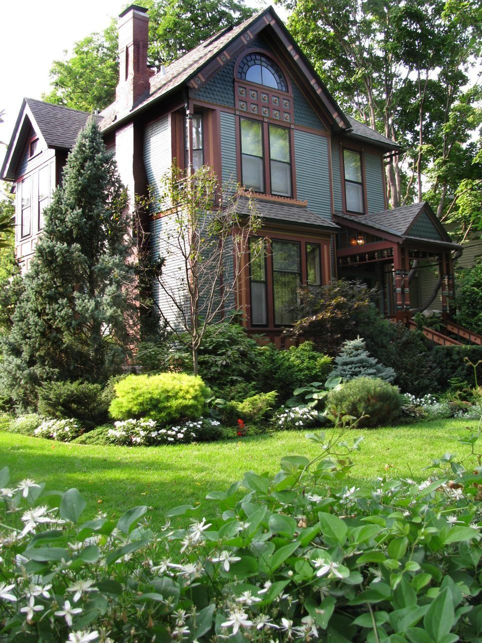 Fabulous Front Yards From Rate My Space   Pinterest   Garten ideen ...