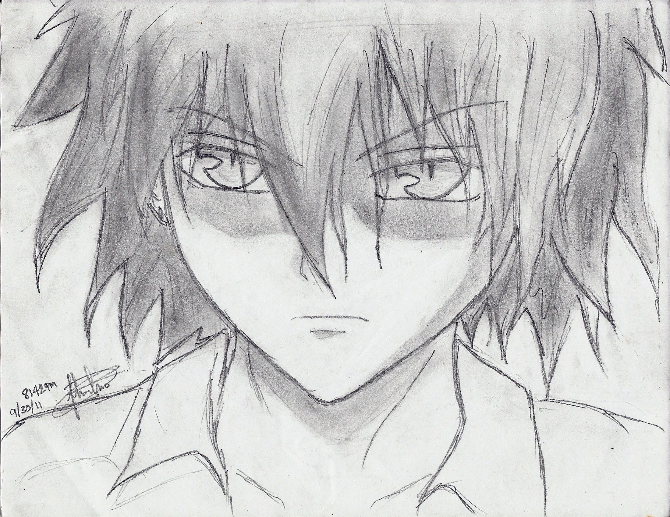 Anime boy drawing easy google search easy drawings pencil drawings anime boy drawing