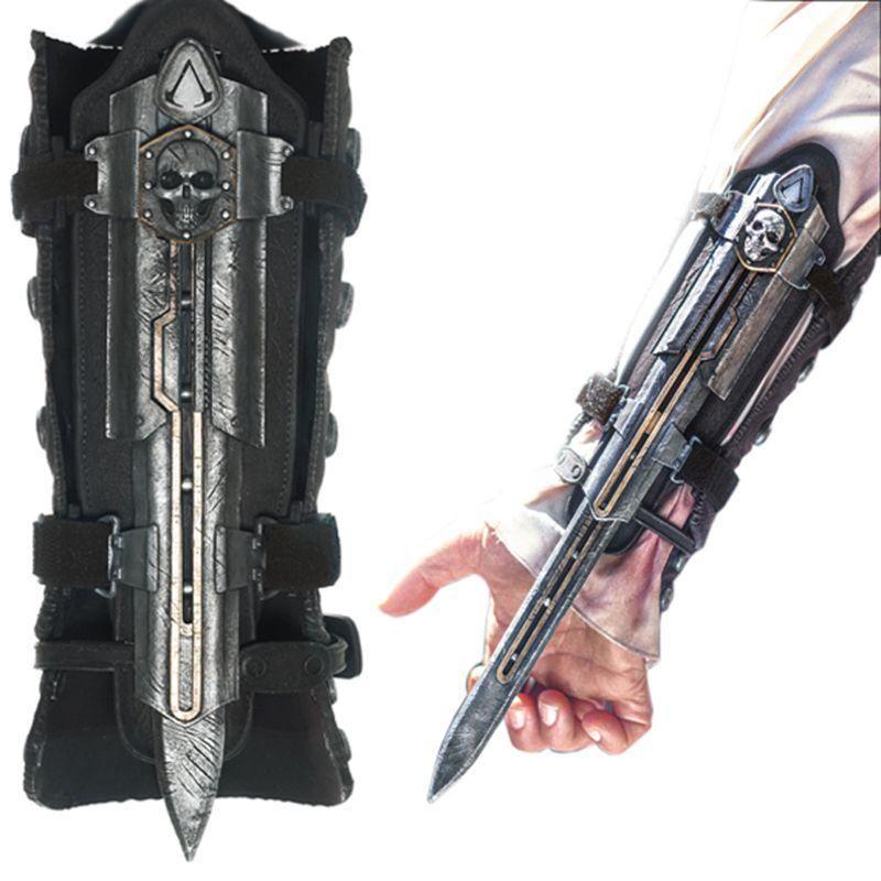 Cosplay NECA Assassins Creed 4 Hidden Blade Edward Kenway Juguetes Action Figure