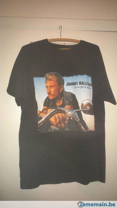 Tee Shirt Johnny Hallyday , A vendre