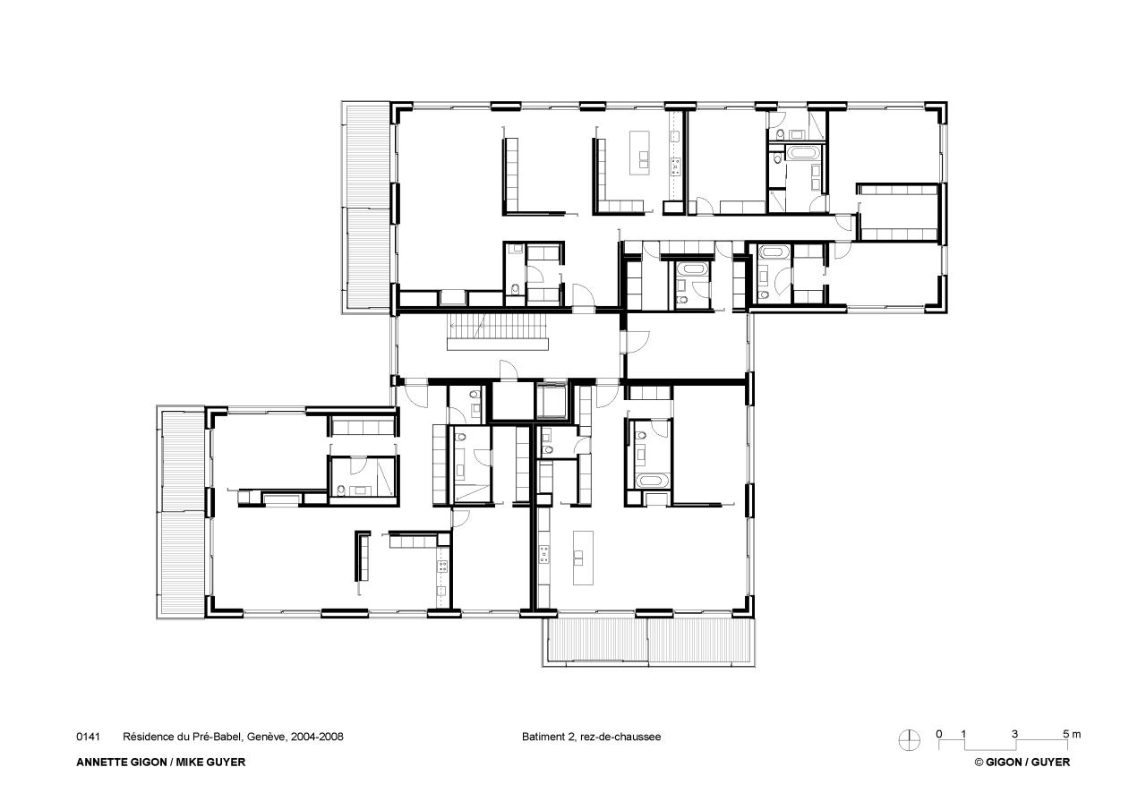 Gigon Guyer Le Corylus housing Gigon guyer, Apartment