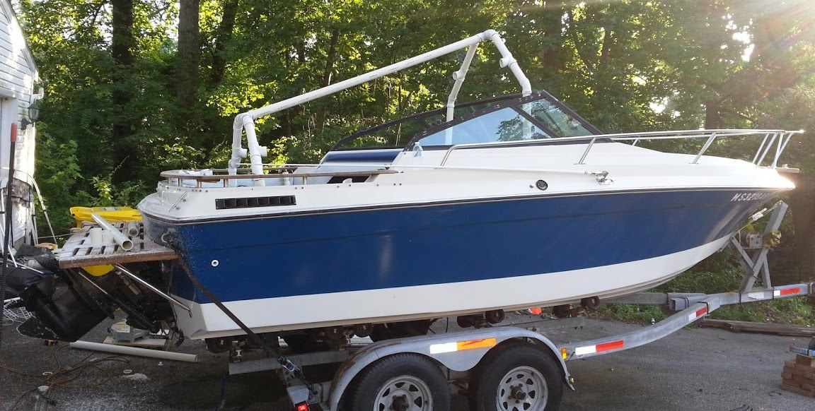 """My """"PVC-based boat cover frame support"""" build Page: 1 - iboats ..."""